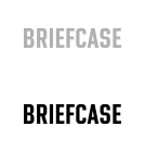 Sleva 25% na fonty písmolijny Briefcase Type Foundry.