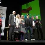 Pro cenu za projekt Botas 66 přijel do Stockholmu Jan Kloss (zcela vpravo).